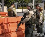 시장이 지하철 타고… LA, 테러위협에 경계태세