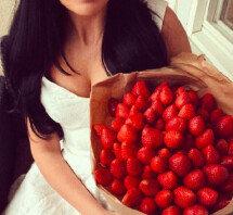 중국에서 유행 중인 '딸기다발', 아시나요?
