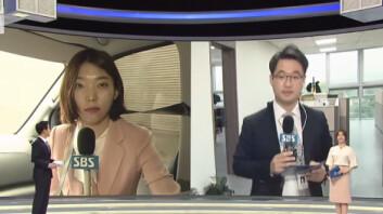"""""""역대급 귀여운 방송사고!""""… SBS 여기자의 실수 '화제'"""