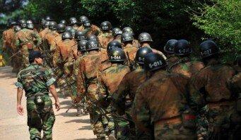 논산훈련소 훈련병, 각개전투 중 사망