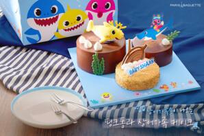 """""""아기 상어, 뚜루루뚜루""""… 노래하는 '상어 가족 케이크' 출시"""