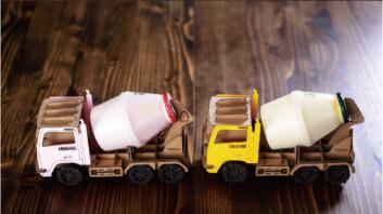 """""""우유 배달왔습니다~""""… 트럭 모양의 바나나우유 홀더 '인기'"""