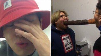 """""""아디다스 신발보다 커""""… '초대형 빼빼로' 선물받은 나몰라패밀리"""