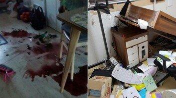 """""""와인병 깨지고 등 떨어져""""… '지진 직격탄' 맞은 포항 가정집"""