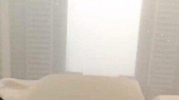 """""""미세먼지 때문에…"""" 中 폭설 사진이 충격적인 이유"""