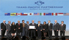 亚太12国签署TPP加入协议,各国只待最后批准