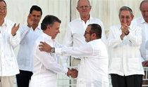 哥伦比亚:融弹为笔,打开和平之路