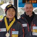 虎标软膏的力量?韩国俯式冰橇选手尹诚彬夺得IBSF世界杯新赛季首站金牌