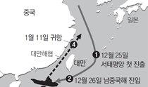 南中国海上的航母对峙