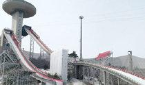 """跳台滑雪赛场上看不见的""""功臣""""—天气信息中心预报官朴正民"""