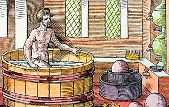 人类最早的实验室—阿基米德的浴缸