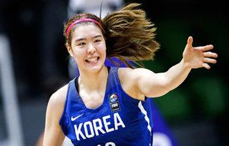 """韩国天才篮球少女朴智秀:""""进入WNBA最终参赛名单的可能性为50%,但努力将它变成100%"""""""