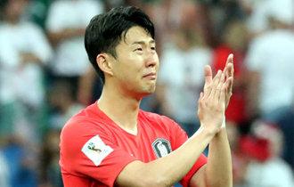 """韩国国家足球队的""""孤胆英雄""""孙兴慜的眼泪"""