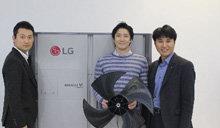 LG電子利用座頭鯨特徵開發出高效空調風扇