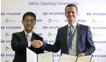 現代汽車將從明年開始在5年內向歐洲市場供應1000輛氫電重型卡車