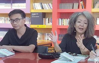 """參加""""坡州書城論壇""""引領社會貢獻的中日書店代表"""