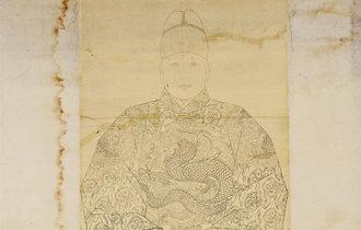 """朝鮮第7代君主世祖的""""禦真""""首次被公開"""