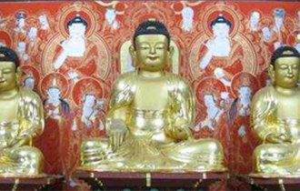 Buddha triad at Munsu Temple to become a national treasure