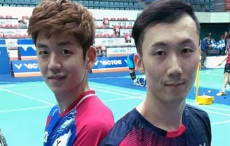 World No.1 male badminton duo plays for the last time