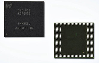 Samsung introduces the 8GB mobile DRAM era