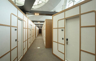 Walkerhill Hotel opens capsule hotel at Incheon Int'l Airport
