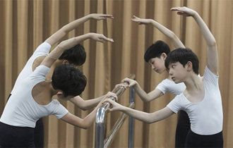 7 boys compete in audition to become Billy for musical Billy Elliot