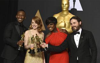 Oscars 2017: Mahershala Ali, Viola Davis step forward for Hollywood diversity