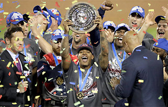 Baseball powerhouse U.S. wins WBC in its fourth try