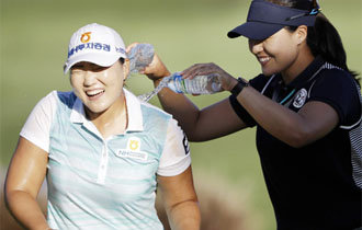 Female golfer Lee Mi-rim wins at Kia Classics in 30 months