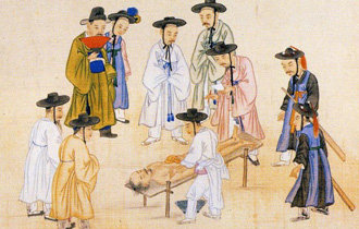 Forensic investigation in the time of Joseon