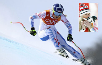 Lindsey Vonn wins bronze in Olympic women\