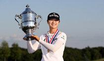 朴城炫が賞金女王と年間最優秀賞を受賞、新人の3冠達成はLPGAツアー史上39年ぶり