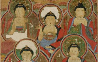 盗難の五仏図が松広寺に戻ってくる