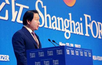 中国に行っても「社会的価値」を叫んだ崔泰源会長