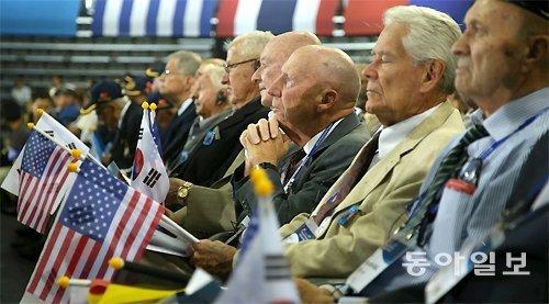 トランプ大統領、「共産主義を阻止した韓国戦争参戦勇士を忘れない」