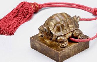 2年前に米シアトル美術館から返還された德宗御寶が模造品