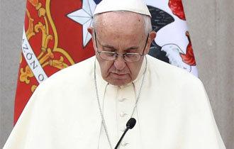 フランシスコ法王、「司祭たちの児童性的虐待に痛みと恥」