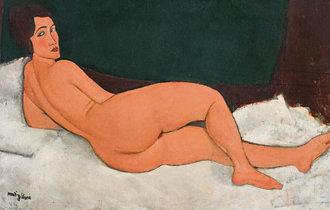 ニディリアーニの「裸婦」が来月競売へ、史上最高額の1600億ウォン越えるか