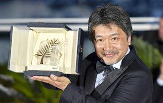 日本の「万引き家族」がカンヌパルムドール受賞