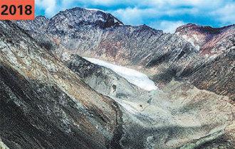 中国西部の高原氷河、例年の2倍以上はやく融解