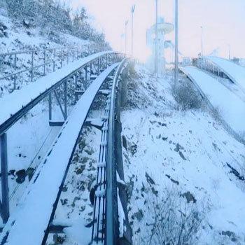 소피마르소의 곤돌라X평창 스키점프대 모노레일