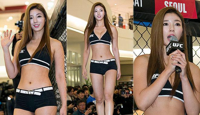 UFC '옥타곤걸' 로 변신한 유승옥