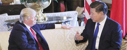 """習近平在元首會晤中告訴特朗普""""韓國曾是中國的一部分"""",引起熱議"""