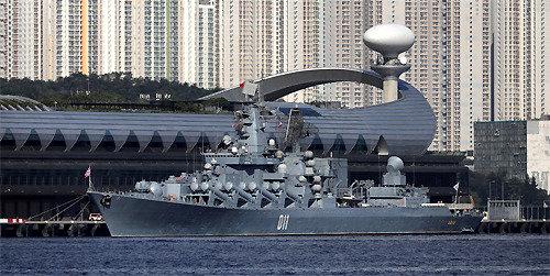 """俄羅斯軍艦首次訪問香港,彰顯中俄""""新蜜月時代"""""""