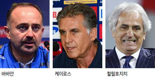 世界杯亞洲區最終預選賽激戰正酣,各國主帥的情況可謂悲喜交加