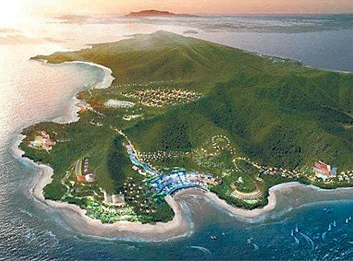 在仁川舞衣島上建設居住旅遊綜合園區的項目正式啓動