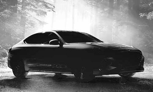 現代捷恩斯G70亮相,將在韓國中型轎車市場與德系汽車三大品牌一較高下