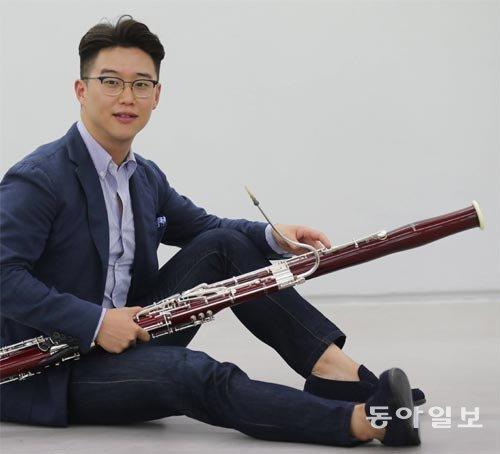 德柏林廣播交響樂團最年輕首席巴松管演奏家—29歲的柳聖權