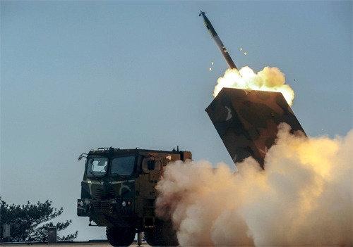 """韩国防部长韩民求表示,""""须主动对北韩远程导弹的发射情况进行实时监控"""""""