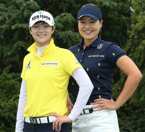 田仁智VS朴城炫VS阿瑞雅,2日揭幕的HSBC女子冠军赛强强对决